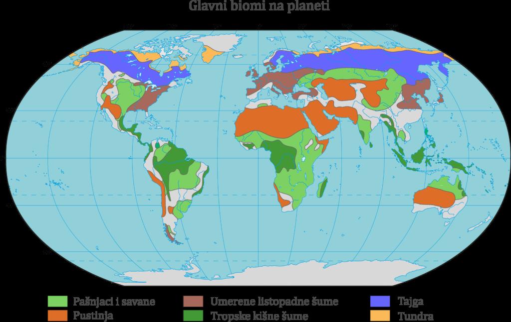 Biomi planete Zemlje